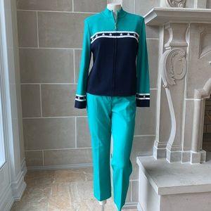 St. John Sport Mint Leisure Suit
